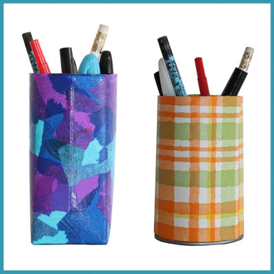 More pencil holders