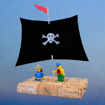 Pirate Raft