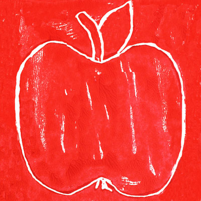 Apple Block Prints